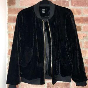 Spring Sale! ✨🌷 Velvet Bomber Jacket